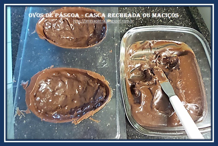 CHOCOLATE, PÁSCOA, SOBREMESA, OVOS DE CHOCOLATE