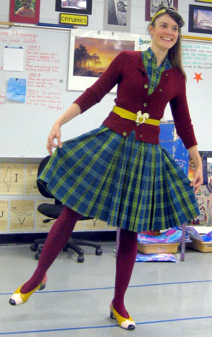 Cassie Stephens What the Art Teacher Wore #1