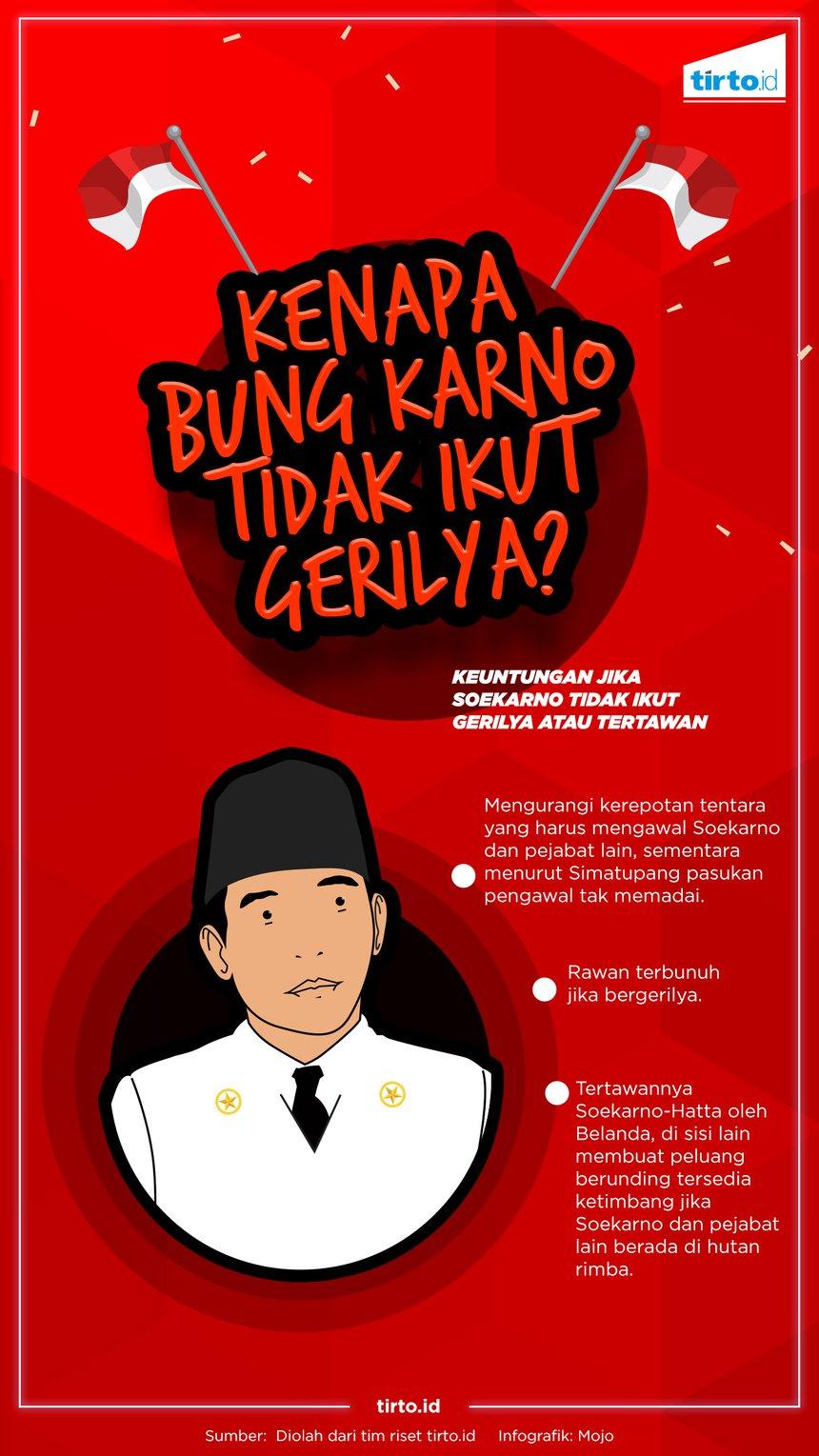 19 Desember 2016: 68 Tahun Agresi Militer II Mengapa Bung Karno Tak Ikut Gerilya Bersama Soedirman?