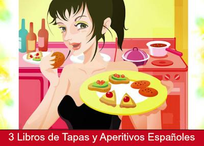3 Libros de Tapas y Aperitivos Españoles