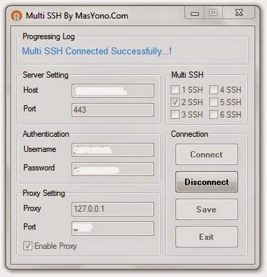 Multi SSH by Mas Yono