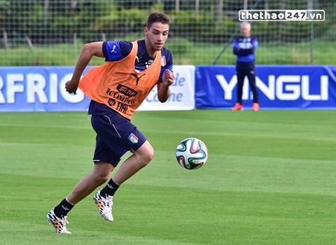 chân sút Mattia De Sciglio sẽ tham gia cùng đội tuyển quốc gia Italia tại kì world Cup lần này.