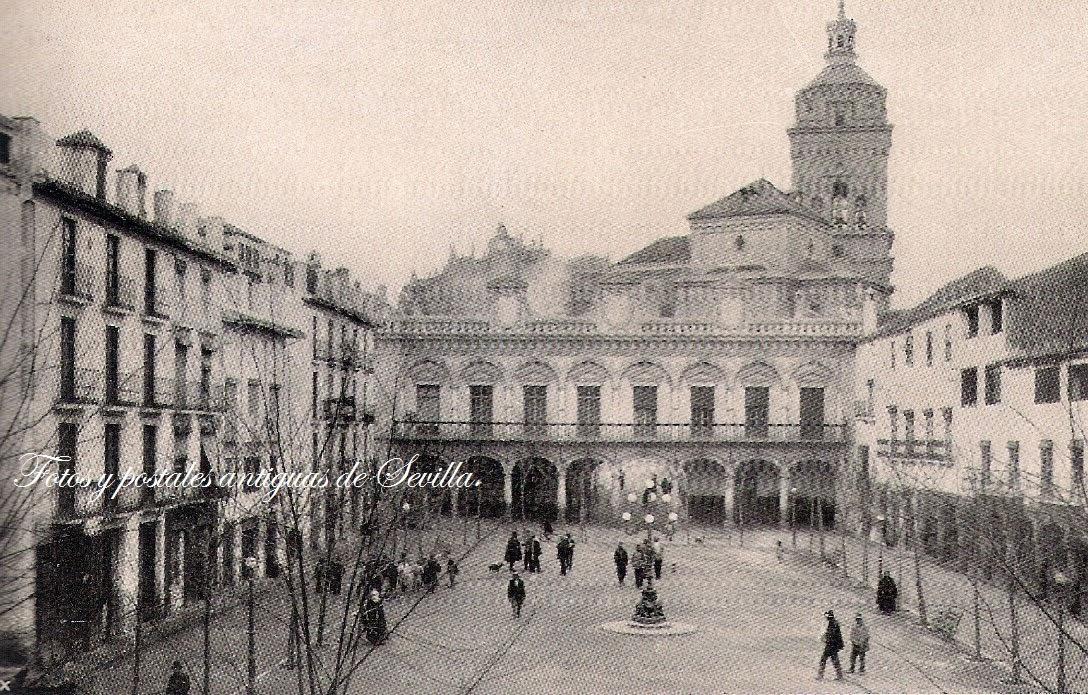 Fotos y postales antiguas de sevilla fotos antiguas de for Juzgado de guadix
