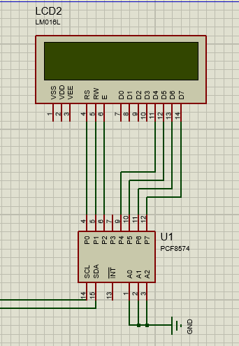 I2c Lcd Library For Proteus