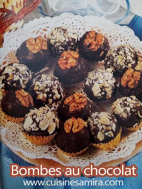 Bombes au chocolat Cuisinesamira