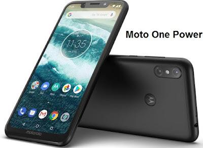 Moto One Power Black | Qualcomm Snapdragon 636 | Google Android One | 4GB, 64GB
