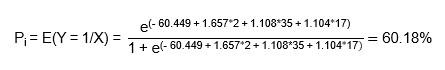 Hồi quy nhị phân Binary Logistic