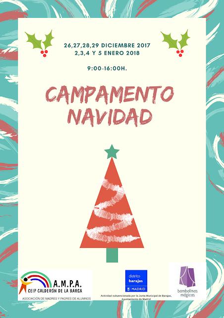 Campamento Navidad