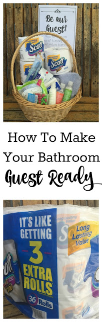 How to make your bathroom guest ready, Guest Bathroom, Guest Bathroom Printable, Bathroom Printable