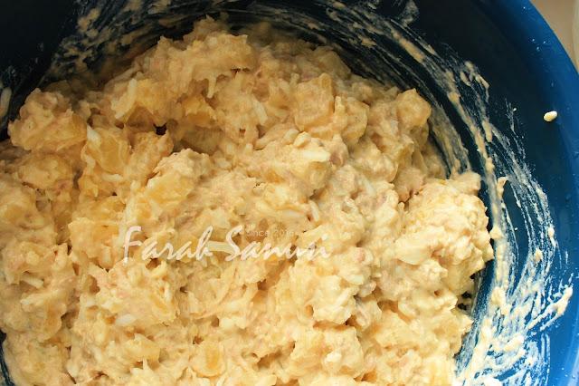 Resepi Salad Telur dan Kentang (Potato and Egg Salad)