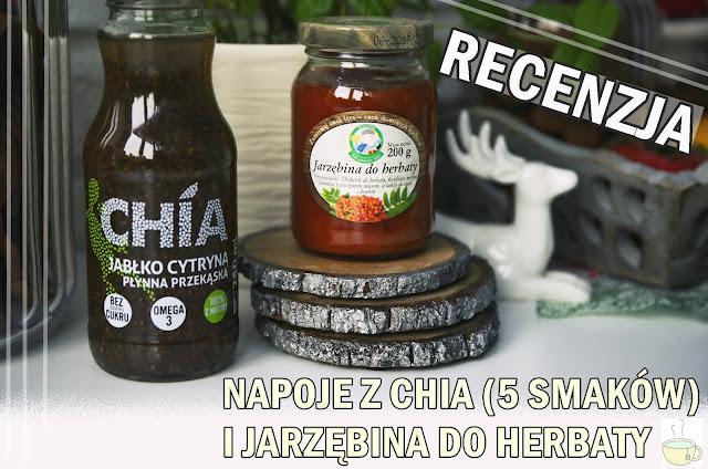napój z chia & jarzębina do herbaty - recenzja