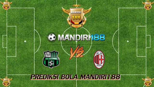 AGEN BOLA - Prediksi Sassuolo vs AC Milan 6 November 2017
