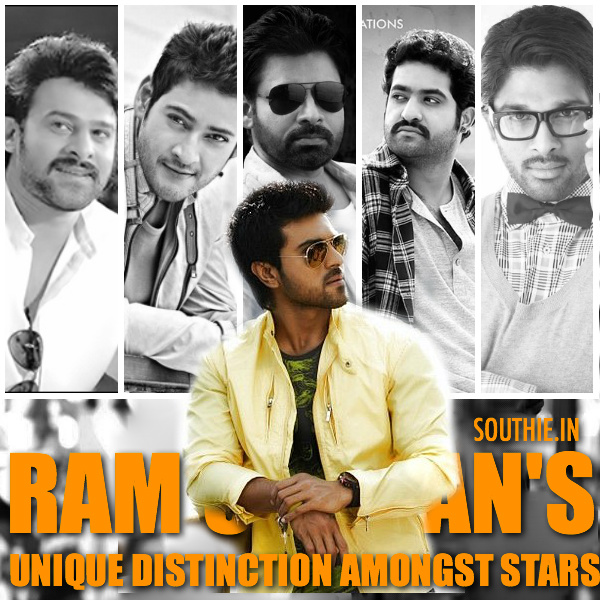 Ram Charan has this Unique distinction amongst stars. Ram Charan has not repeated any director, and his next 3 movies also continue with the same tradition. Ram Charan, Mahesh babu, Pawan Kalyan, Prabhas, NTR, NTR jr, Allu arjun, Sarrainodu, Baahubali, Janatha Garage, Brahmotsavam, Sardaar Gabbar Singh, Rakshak, RC 10