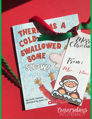Free Christmas Bookmarks for Student Gifts