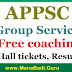 APPSC Group I/III Free coaching to SC students 2017 - Hall tickets, Results
