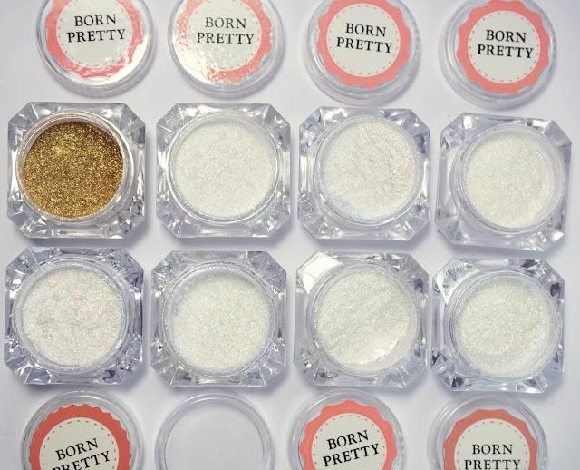 Nurbesten - Chameleon Mirror Nails Nr. 587 Born Pretty Store, Nail Art, Design, Purple, Glitzer Puder Powder