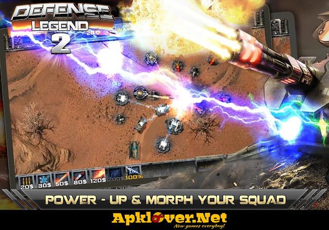 Defense legend 2 MOD APK unlimited money