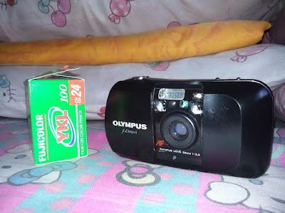 The Olympus µ[mju:] and Fujicolor YKL film