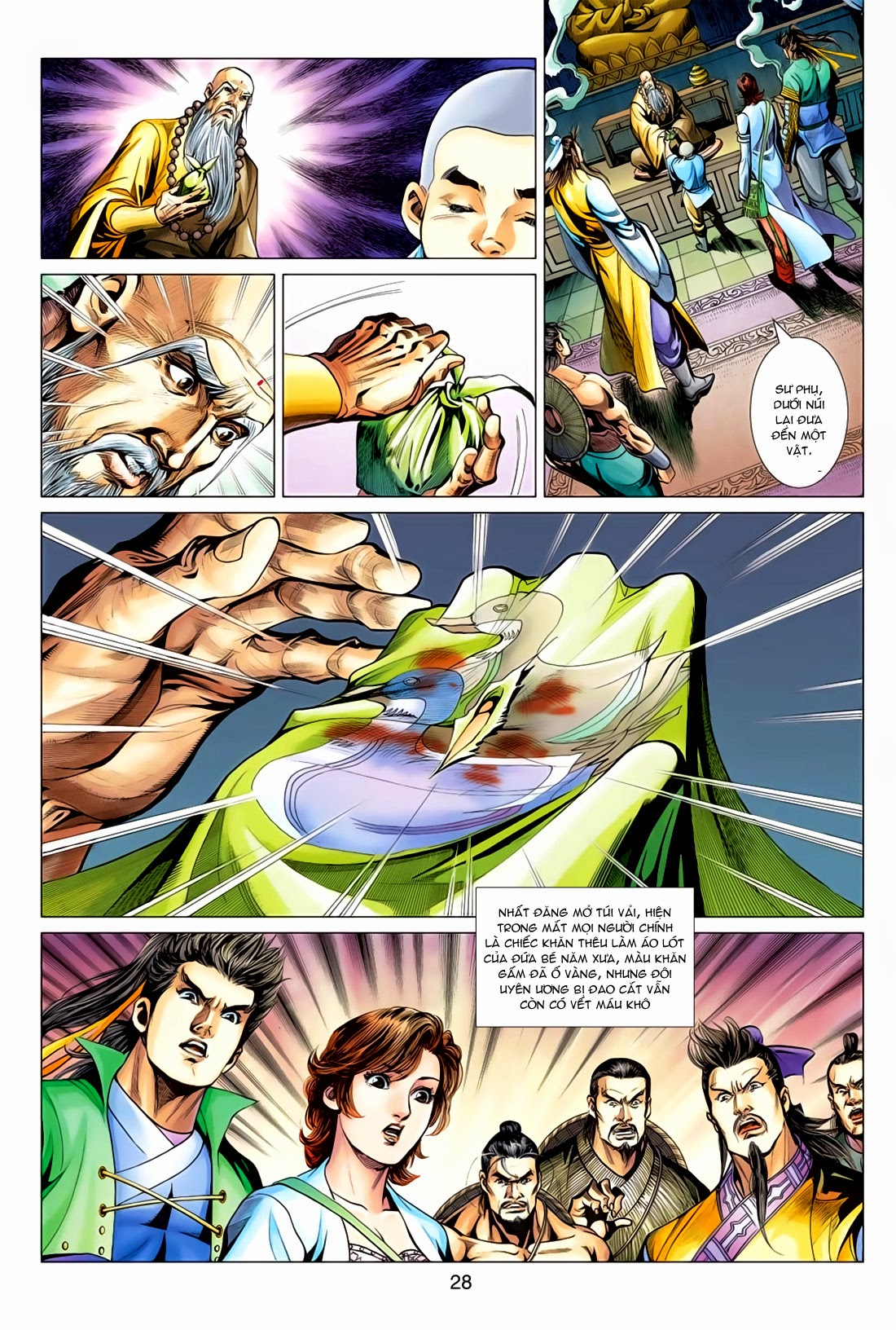 Anh Hùng Xạ Điêu anh hùng xạ đêu chap 78: sát anh trang 28