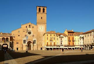 The Piazza della Vittoria in Lodi