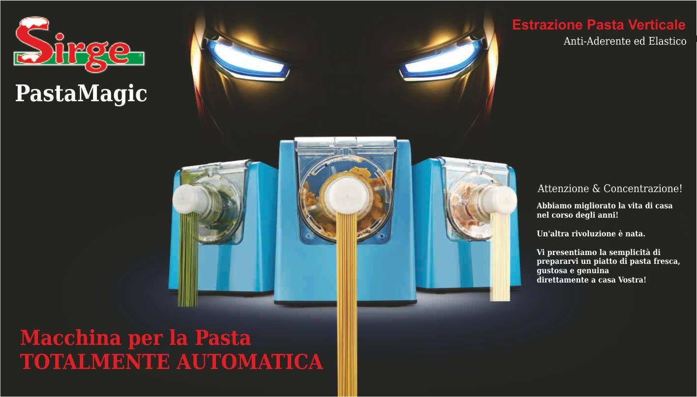 Elettrodomestici sirge macchina automatica per fare la pasta fresca in casa 300 watt 10 tipi - Macchina per fare la pasta in casa ...