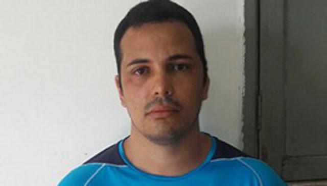 Rogério Hilarino Pinto da Silva foi preso no Centro de Davinópolis. -