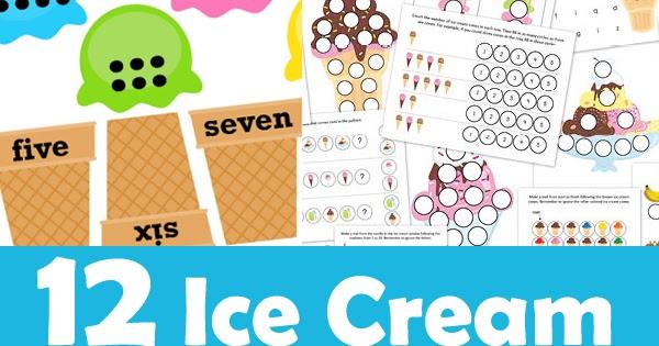 12 ice cream printables for preschoolers totschooling toddler