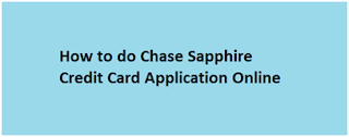 Chase.com Sapphire Reserve Application Online