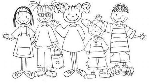 50 Desenhos Do Dia Do Amigo Para Colorir, Pintar, Imprimir