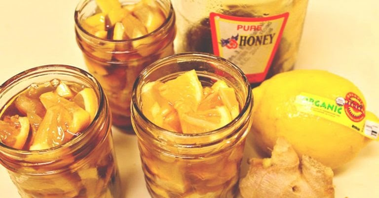 How to Make Honey Ginger Lemonade for Colds and Sore Throats...