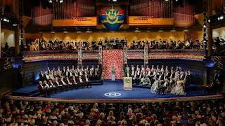 Ceremonia de los Nobel