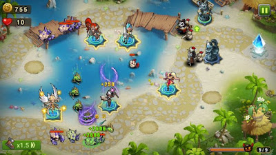 Magic Rush Heroes v1.1.90 Apk+Mod for android