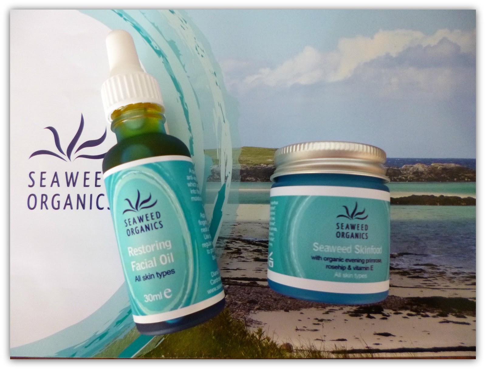 Seaweed Organics skincare