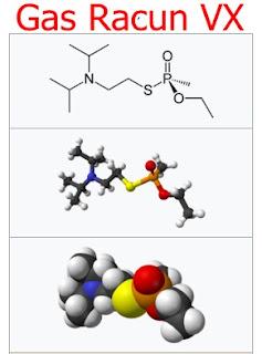 gambar Efek Gas Racun VX  ke tubuh Manusia
