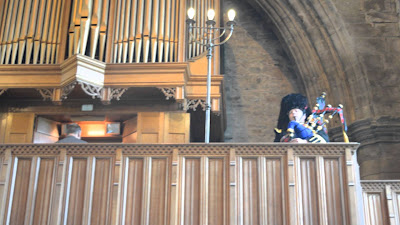 organ and bagpipes