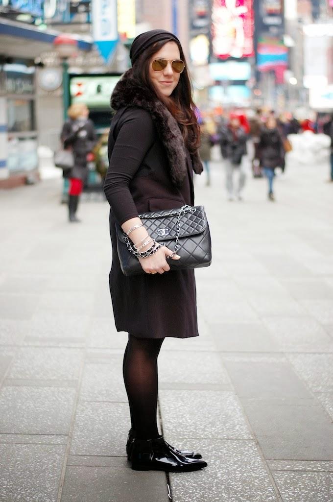 New York Fashion Week outfit idea Rachel Comey dress
