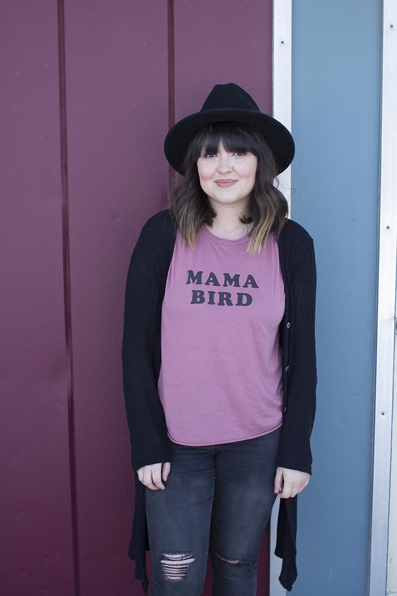 Mama Bird Tshirt
