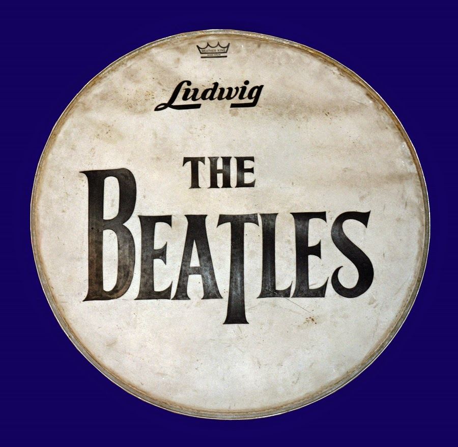 the daily beatle beatles drum head for sale. Black Bedroom Furniture Sets. Home Design Ideas