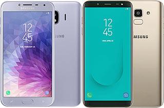 Perbandingan Samsung Galaxy J4 vs J6