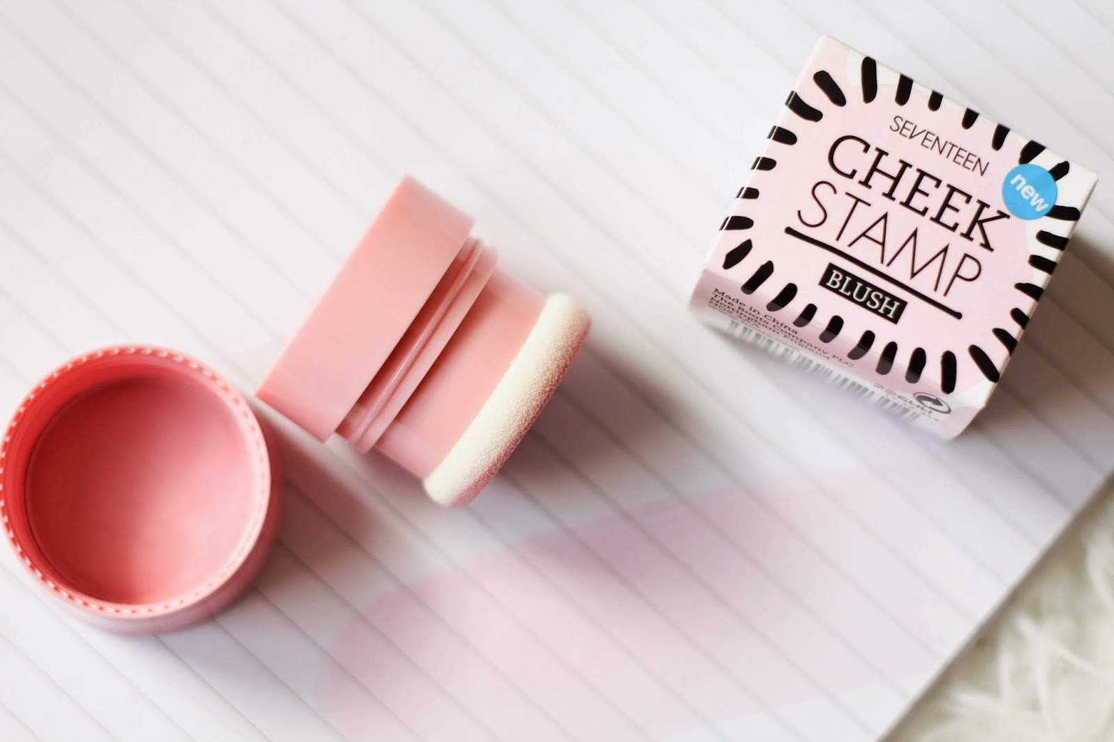 Seventeen Cheek Stamp review