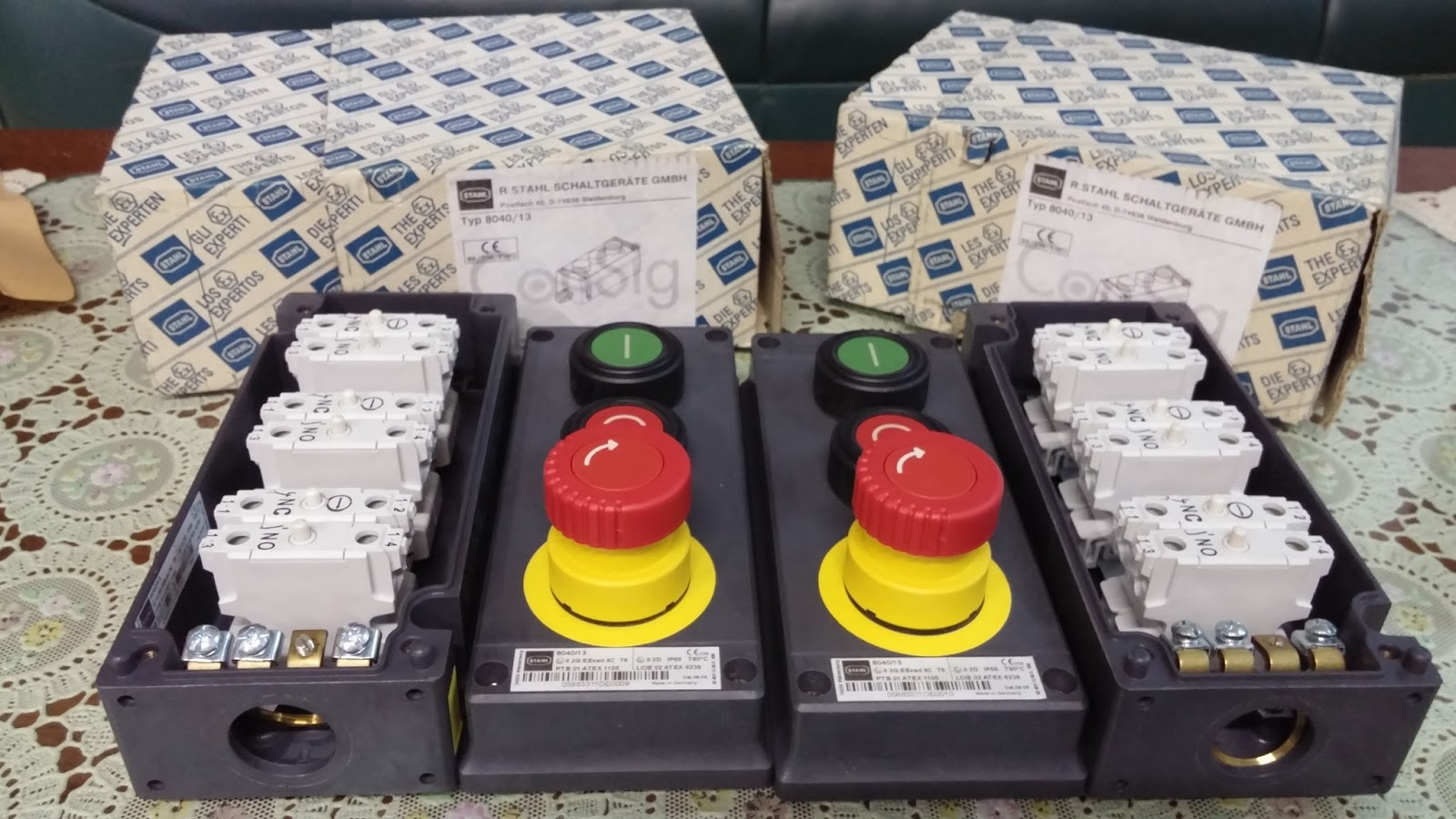 jual local control station explosion proof switch pilot lamp push button explosion proof indonesia [ 1600 x 900 Pixel ]