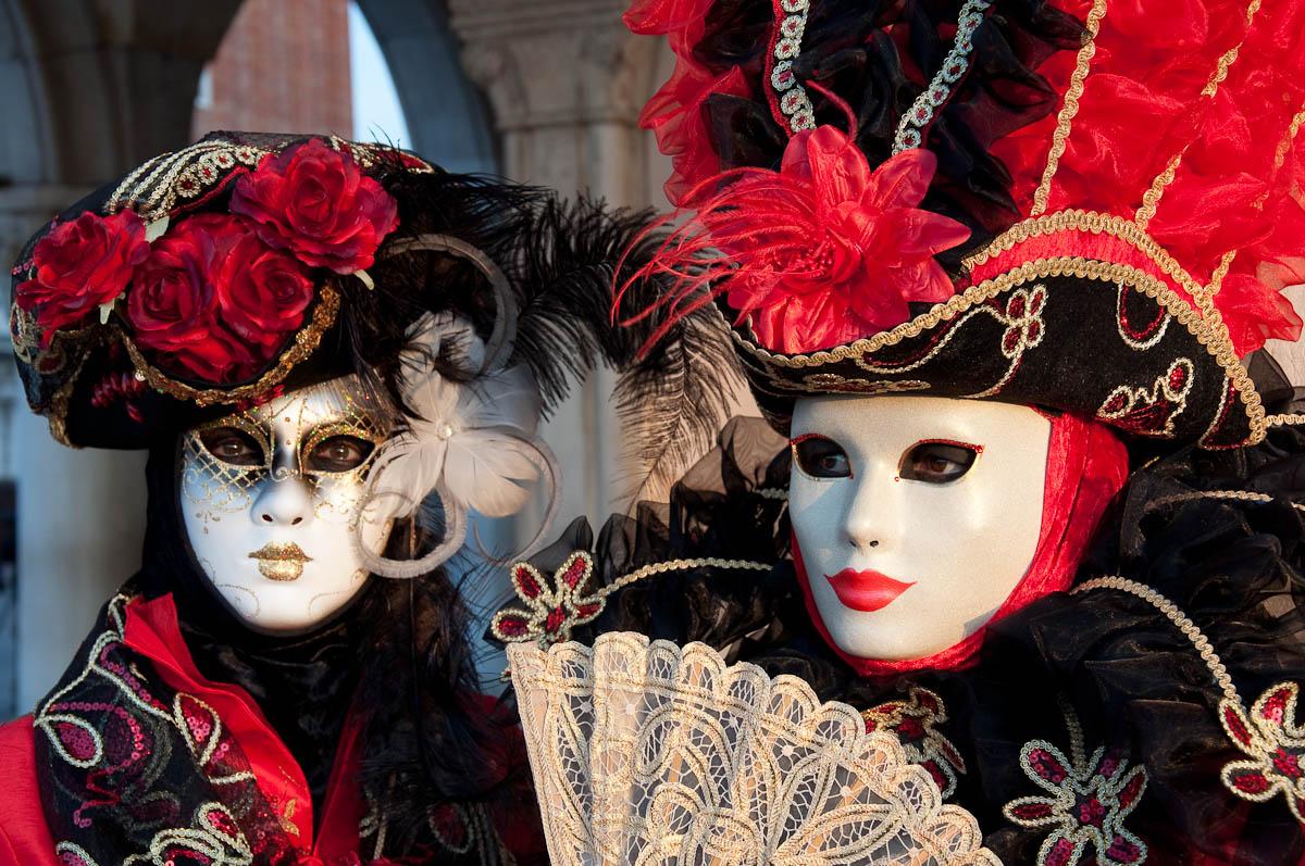 Masks, Venice Carnival 2011, Venice, Veneto, Italy