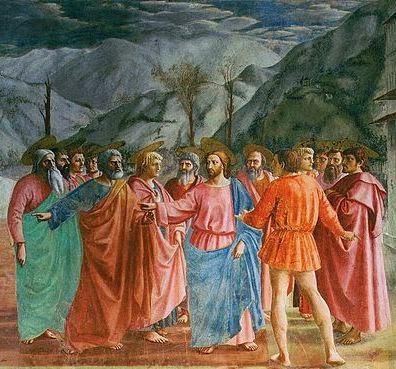 E Arthistory Masaccio S Tribute Money And Adam And Eve