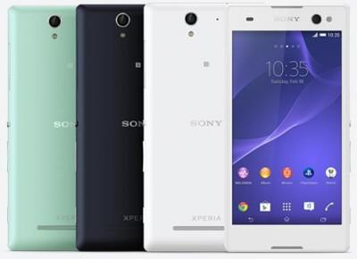 Sony Perkenalkan Xperia C3, Smartphone 'Selfie' Besutannya