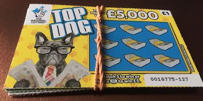 £1 Top Dog National Lottery Scratch Card
