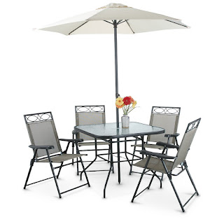 Sy Deals Making Deal Sites Great Again 6 Piece Castlecreek Deluxe Outdoor Patio Table Chairs Furniture Set 99 Free Shipping
