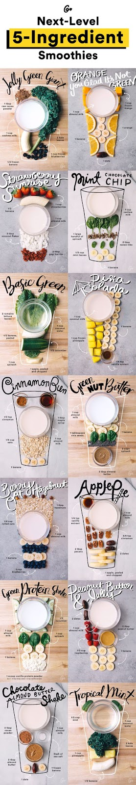5-Ingredient Smoothies That Taste and Look So Good We Want to Cry