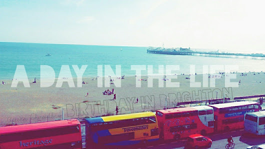 A Day In The Life + OOTD // Brighton