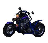 [Bike Costume] Blue Flare