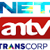 Frekuensi Trans TV Trans7 Net TV Antv 2019 Di TP Telkom 4 Dan Telkom 3S